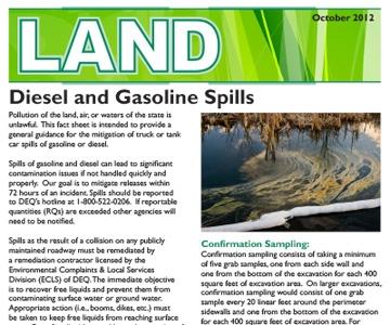 Diesel and Gasoline Spills